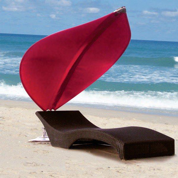 parasol pour transat Rimbou Lotus