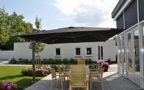 parasol décentré Palestro Solero terrasse