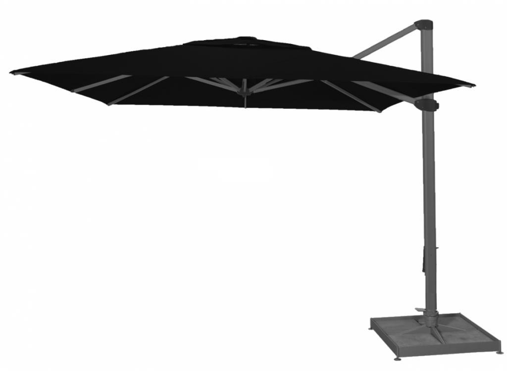 Palestro parasol excentré noir