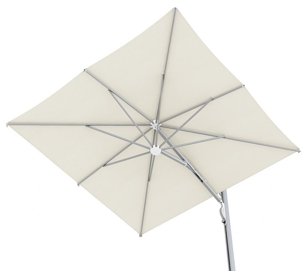 parasol déporté restaurant terrasse design luxe