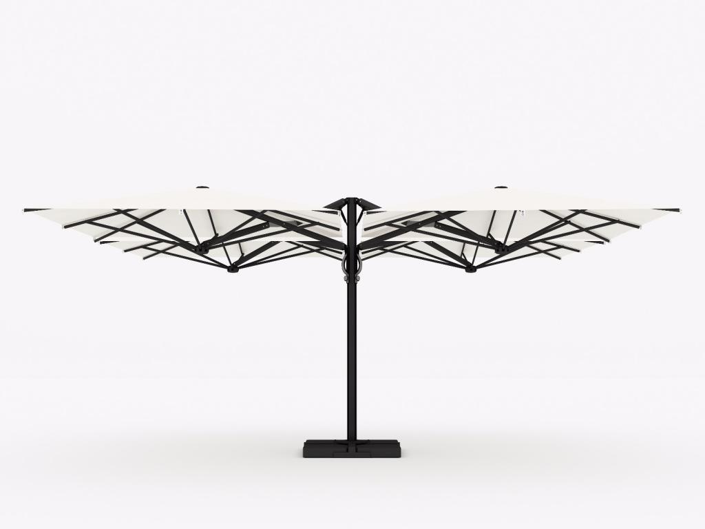 parasol astro carbon scolaro parasol déporté design luxe 3x3m 3x4m 3.5x3.5m