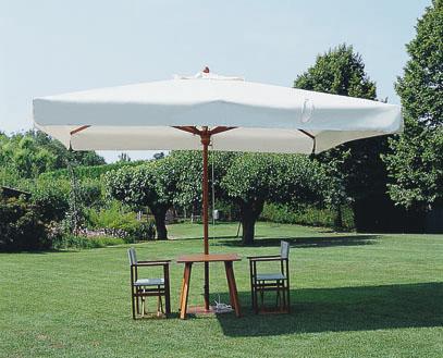 parasol de luxe en bois haut de gamme