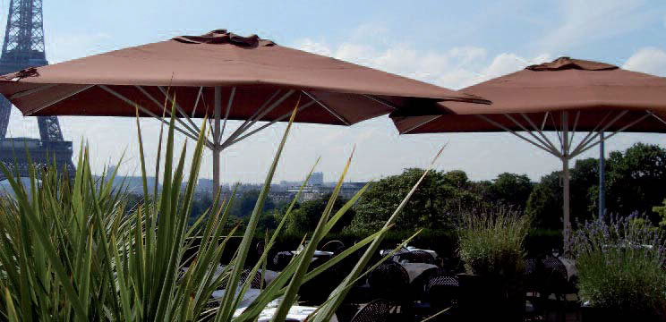 maxisoco parasol géant restaurant