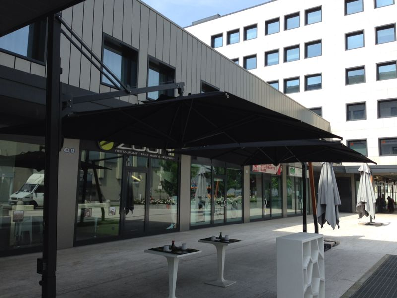 Parasol deporte aluminium jardin Galileo Dark SCOLARO