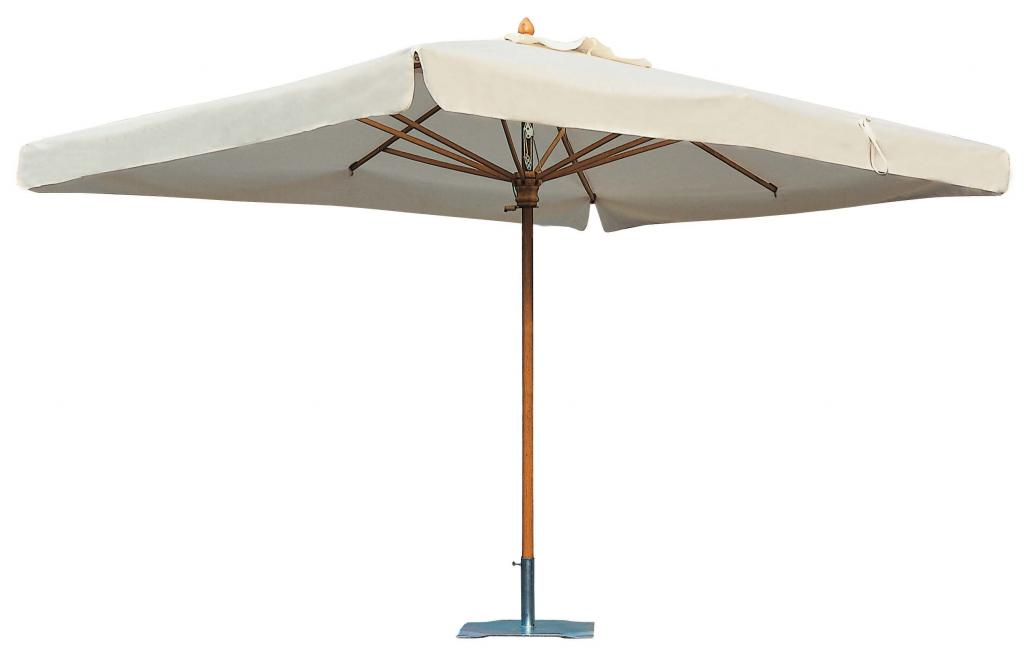 parasol en bois de qualit pour restaurant terrasse hotel camping. Black Bedroom Furniture Sets. Home Design Ideas