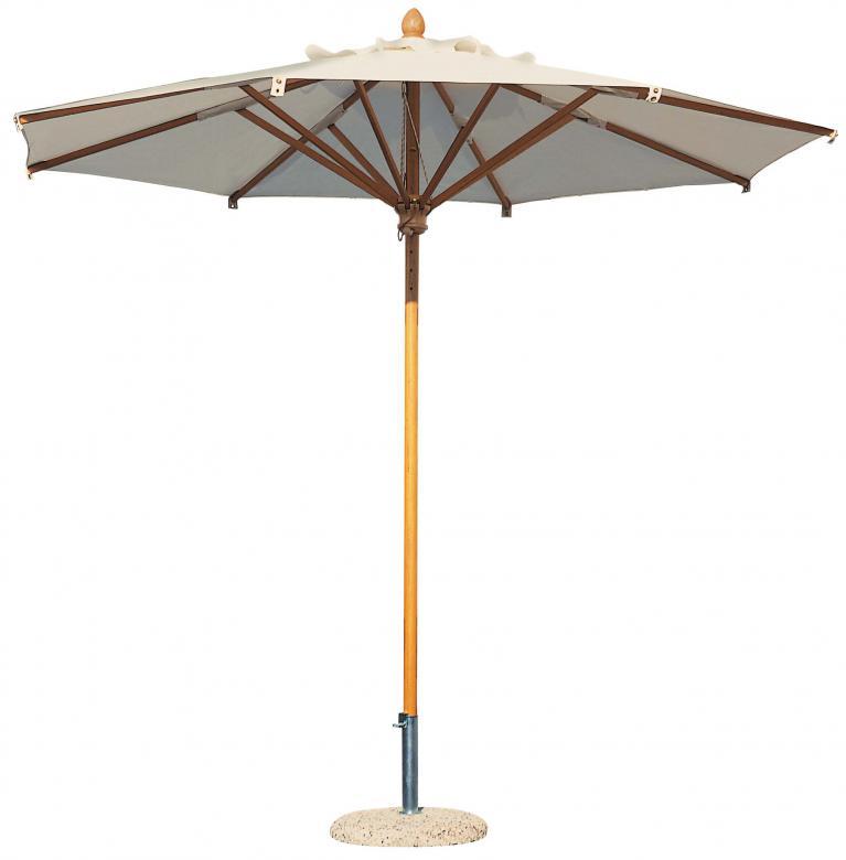 parasol en bois de qualit pour restaurant terrasse hotel camping maison et jardin. Black Bedroom Furniture Sets. Home Design Ideas