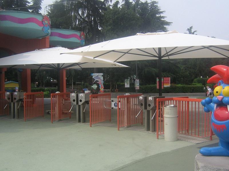 parasol scolaro geant pour restaurant grand parasol de terrasse