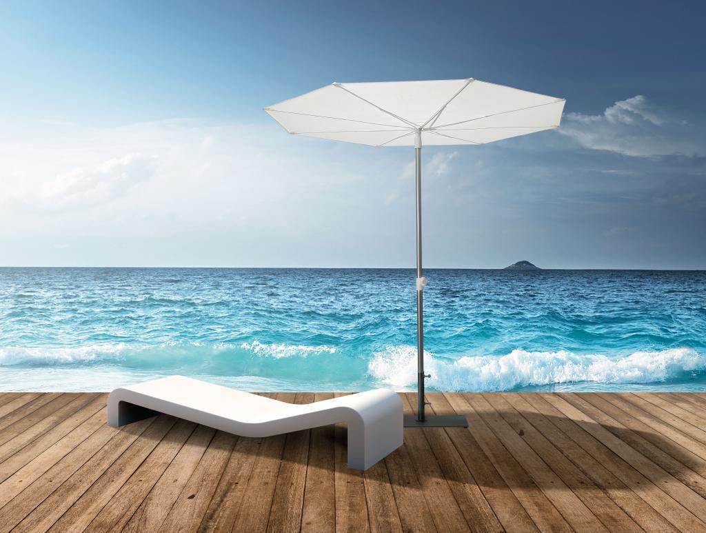 Parasol pour plage restaurant Revo SCOLARO