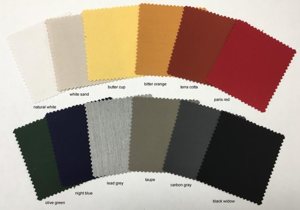 Coloris toile acrylique parasol professionnel Prostor P6 PROSTOR