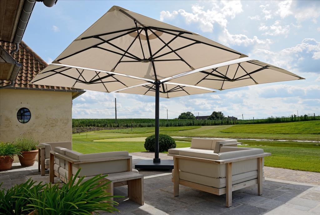 parasol prostor p6 1mat 4 parasols