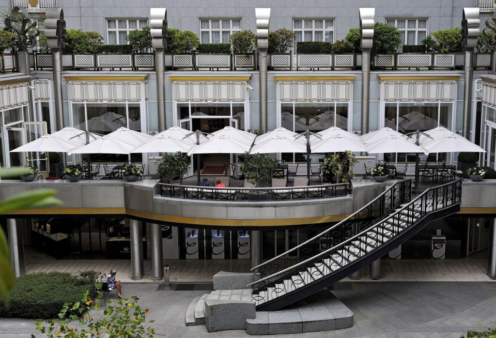 Prostor p6 restaurant parasol belgique