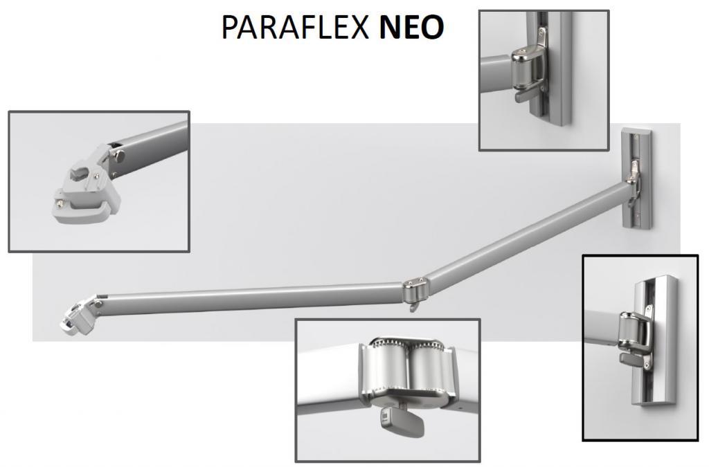 Bras neo 2m paraflex wallflex