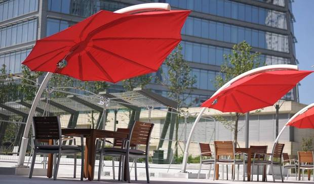 parasol design haut de gamme icarus umbrosa