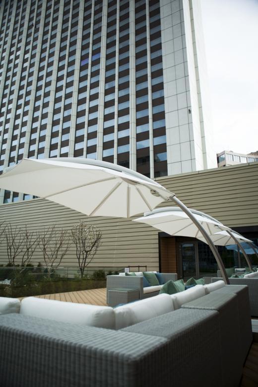hotel design parasol icarus umbrosa