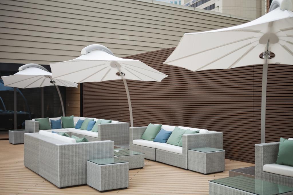 parasol pour plage hotel restaurant